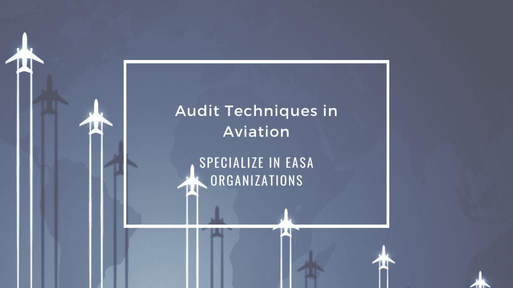 Audit Techniques in Aviation